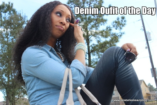 Denim Outfit of the Day