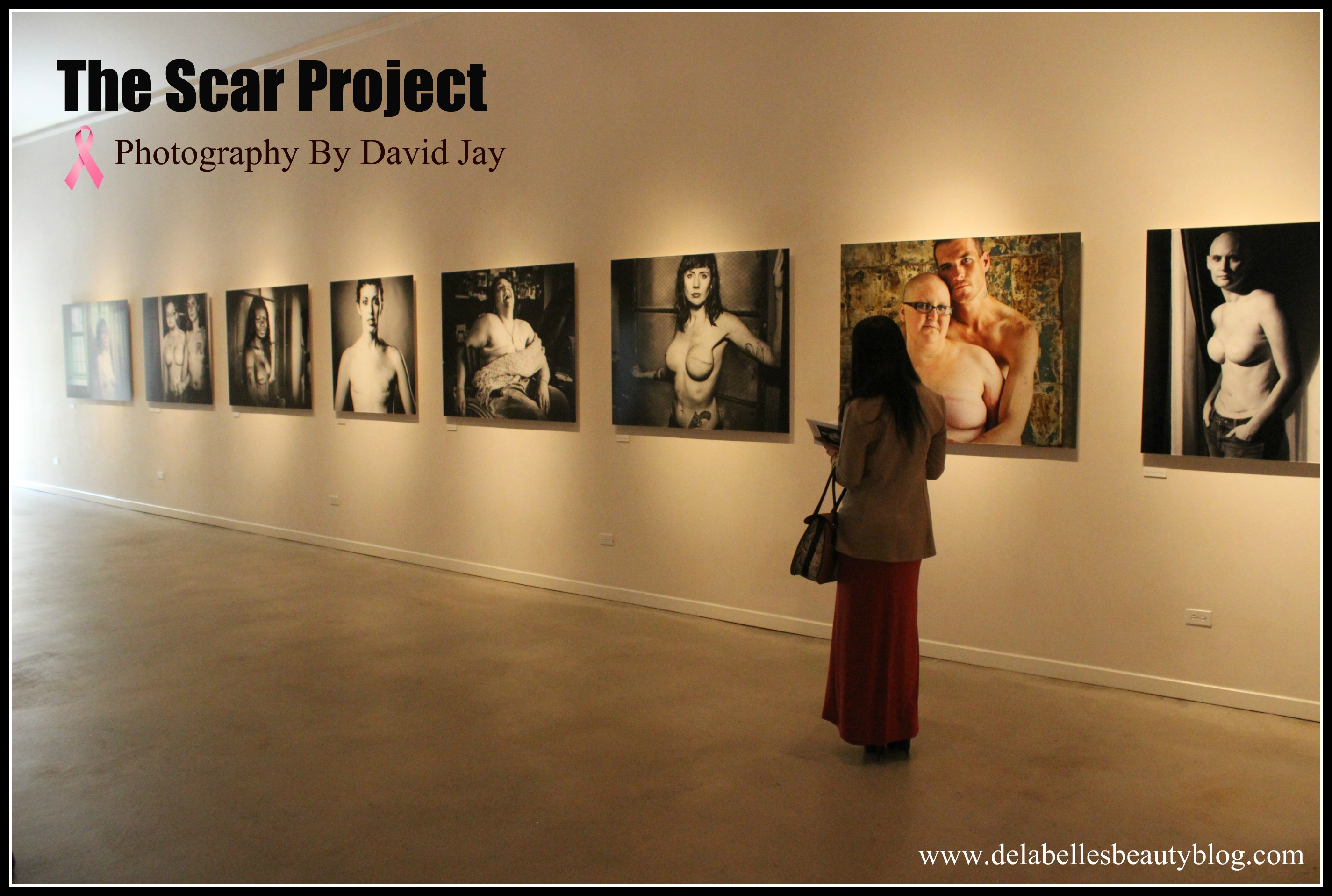 "The SCAR Project by David Jay ""It's Not Just A Pink Ribbon"""