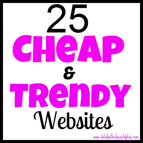 25 Cheap and Trendy Websites