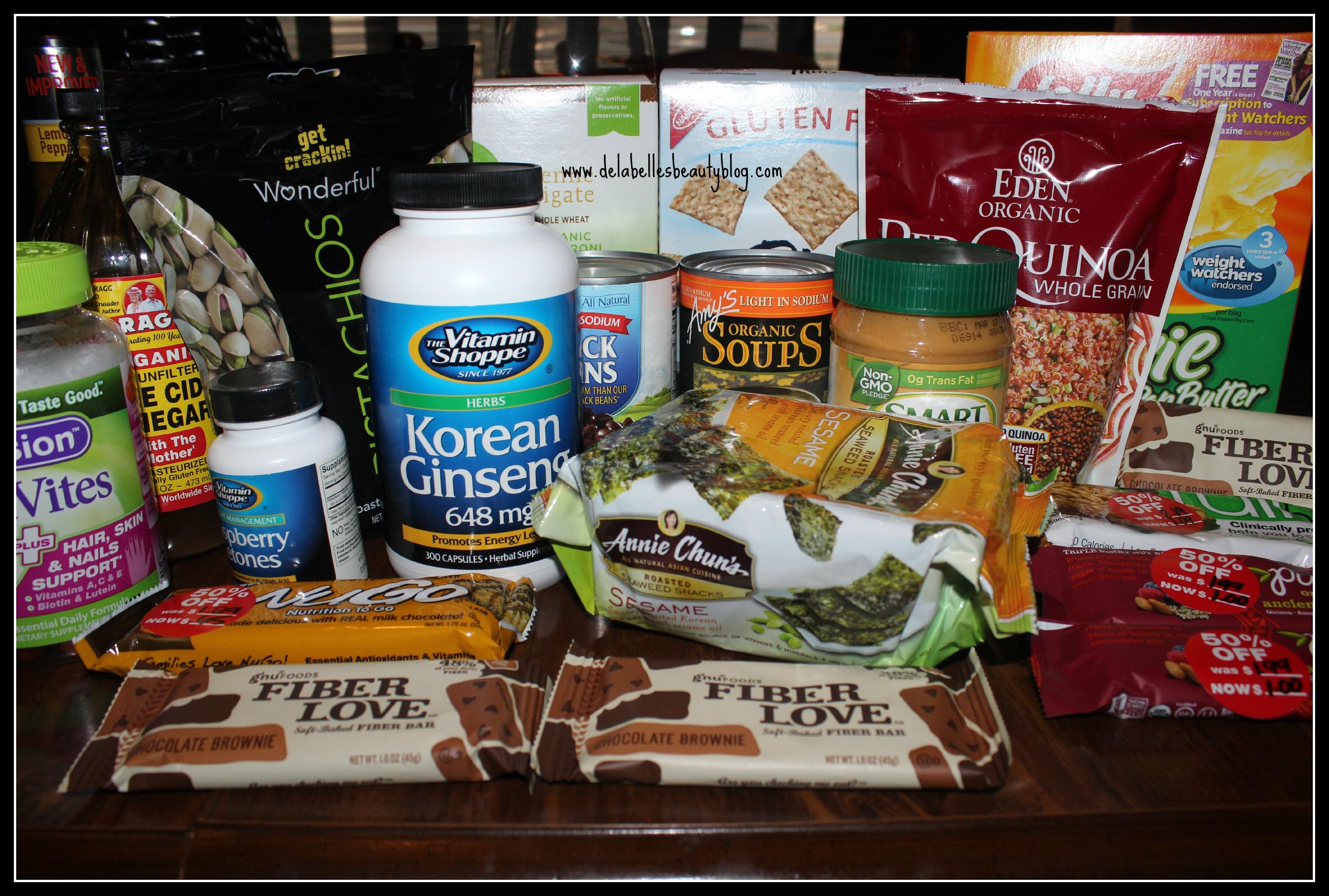 Healthy Food Haul