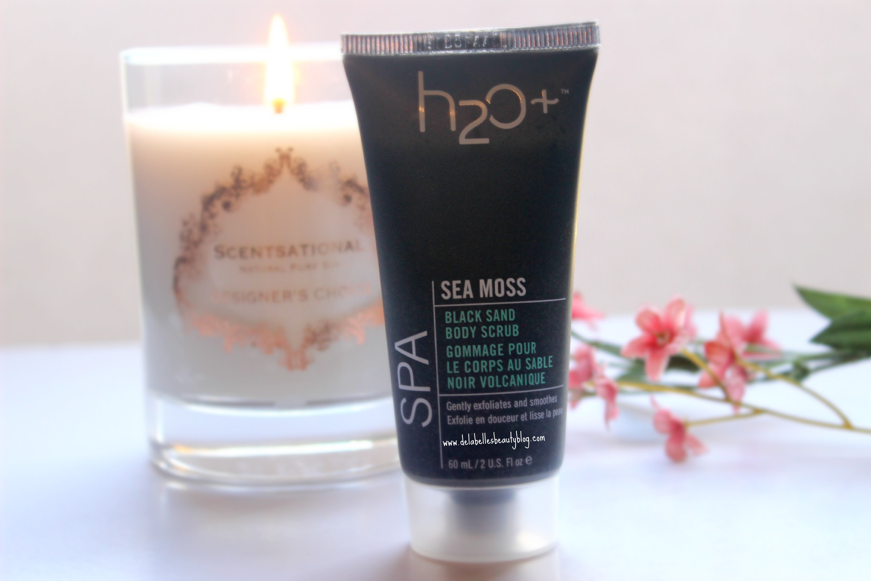 H2O Sea Moss Black Sand Body Scrub