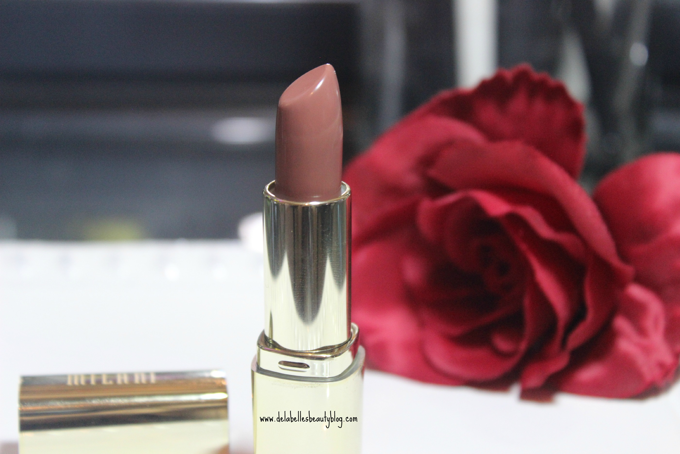 Milani Lipstick in Teddy Bare Plus Swatches
