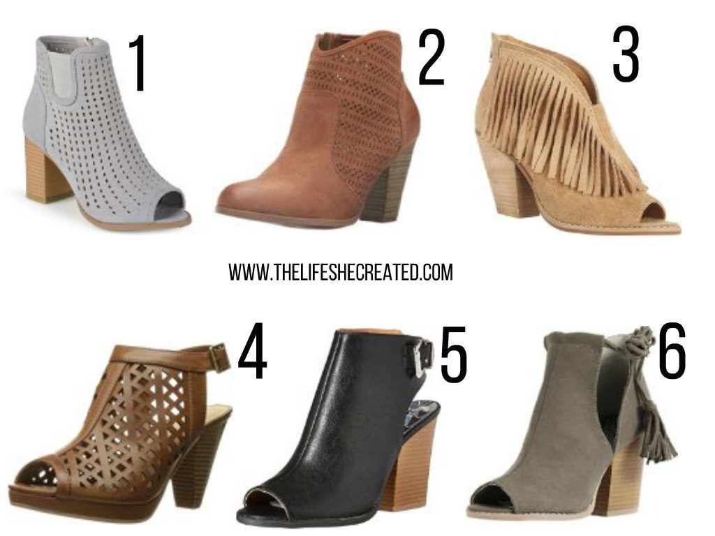 summer to fall boots