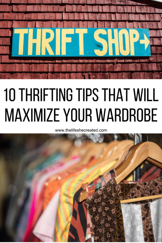 10 thrifting tips to maximize your wardrobe